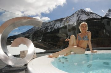 Jacuzzi in inverno